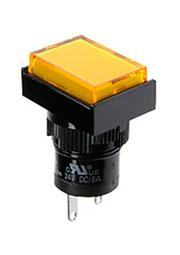 D16PLT1-000KY, индикатор светодиодный желтый 24В