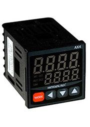 AX4-2A, термоконтроллер 48x48мм вхPt100,K,J,R,T 230В вых 3реле+12В PWM