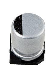 CA050M0010RED-0605, 10мкф 50В 6.3х5.4 конденсатор электролитический SMD