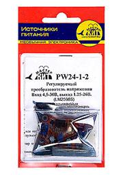 PW24-1-2, PW24-1-D, Регул. преобразов. напряж. Вход 4-24В, выход 0.93-20В