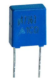 B32529C474J189, конденсатор пленочный 0.47мкФ 63В 5%