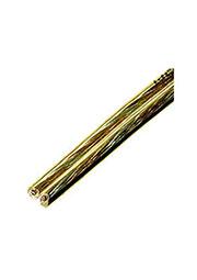SCT-15-2.50, акуст.кабель 2х2.50мм кв.,луженный,желт-прозр.,100м на кат