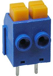 390-021-12, клеммник нажимной 2 контакта 5мм (DG390-5.0-02P)
