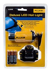 L206, Fluke светодиодный фонарь для защитного шлема