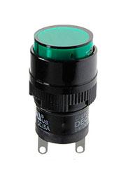 D16PLR1-000KG, индикатор светодиодный зеленый 24В
