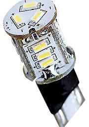 AR-T10 15Led3014-12v White, Ав.лампа белая Питание 10-30V DC.Мощ.0.7вт