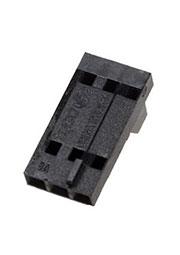 104257-2, розетка на кабель 3конт шаг 2,54мм AMPMODU