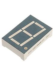 FYS-10011BUHR-21, индикатор 1 разряд красный 33х22.4мм 645нм 150мКд