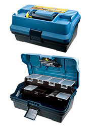 2-38007, Ящик  для инструмента  ELECTRO , пластмассовый с фонариком