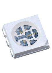 FM-T5050HRK-624N, светодиод SMD 5050 PLCC красный 110гр 624 нм 2100 мКд