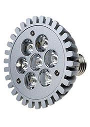 FEX162 E27, 7x1W 220В лампа светодиодная, цвет теплый белый