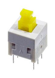 L-KLS7-P8.0X8.0 0 (NON LOCK), кнопка без фиксации 8мм 30В 0.1A (B170H)