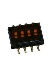 DHN-04-T-V, DIP переключатель 4поз. SMD 1.27мм (NHDS-04)