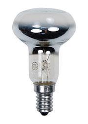 40R50/E14, Лампа  40Вт, зеркальная, цоколь E14, R=50mm