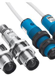 VS/VE18-4P3612, оптич источн/приемн ИК 20м М18*1 пласт PNP каб 2м =6017