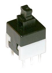 MPS-800N-G, кнопка без фикс. 8мм 30В 0.1A (аналог B170H)