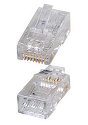 P88RZ50V2-C6I, вилка RG-45 на кабель со вставкой (TP8P8C)