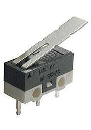 DM3-03P-25G-G-G, микропереключатель с лапкой 125В 3A