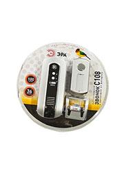 Эра С108, беспровод . дверной звонок (1кнопка+1динамик) 36мелодий