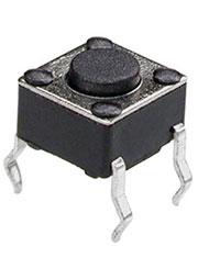 0643HIM-130G-G, кнопка тактовая 6х6 h=4.3мм (аналог TS-A1PS-130 DTS-61N SWT2)