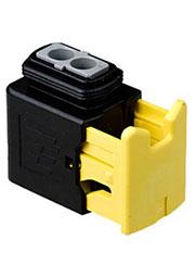 2-1418483-1, корпус розетки HDSCS 2 конт.(тип MCP2.8)