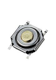 IT-1187-160GM-G, кнопка тактовая 5.2х5.2 SMD h=1.5мм (аналог SWT-41)
