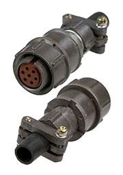 2PM18-7TKQB2, розетка на кабель 7 контактов (аналог 2РМТ18КПН7Г1В1В)