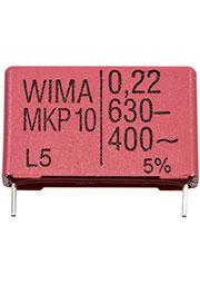 MKP1J032206A00JSSD, (MKP 10-630В-0,22 мкФ 5%)