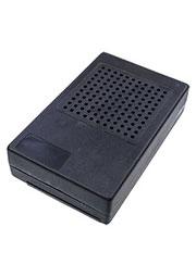 BOX-M33, корпус пластик.с перфор.(для динамика)74х118х29мм