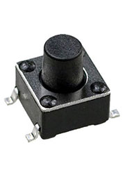 IT-1102WB8-160G-G, кнопка тактовая 6х6 SMD h=7мм