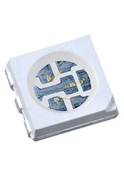 FM-T5050BK-470D, светодиод SMD 5050 PLCC голубой 110гр 470 нм