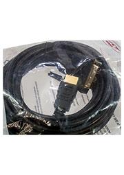 CC-HDMI-DVI-15, Кабель HDMI-DVI-15, 19M/19M, 4.5м, черный, экран, позол.разъемы