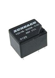 1-1393204-3, V23148-B0008-A101 реле 1-Form-C, SPDT, 1CO 48VDC/7A бистаб