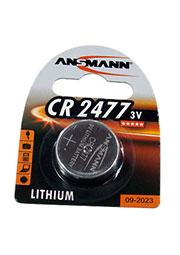 CR2477, батарейка 3В, BC1, дисковая литий, 1 шт.