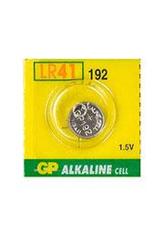 GP 192 LR41, батарейка GP 192, диск MnZn, ( LR41 ), 1 шт.