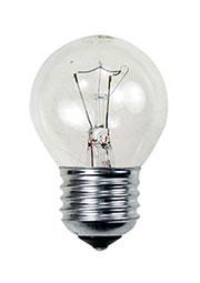 40D1/CL/E27, Лампа  40Вт, сферическая прозрачная, цоколь E27