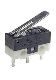 DM1-01P-30G-G, микропереключатель с лапкой 125В 1A