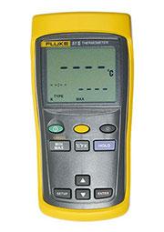 FLUKE 51 II, термометр с термопарой