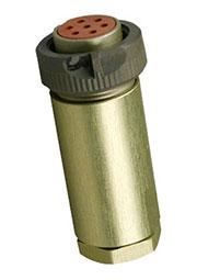 РС7ТВ, розетка с кожухом, резьбовое соединение  5 (18-20г.)