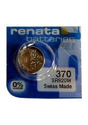 370  SR920W, батарейка оксид-серебр., 1 шт.