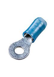 36157, PIDG наконечник кольцевой изолированный М3.5 синий на провод 1.25-2мм2