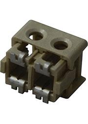 1-2106003-2, SMT разъем для светодиодов 2 контакта 20 AWG 250В