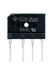 GSIB2580-E3/45, диодный мост E3/45 800 В 25А SIP