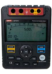 UT512, измеритель сопротивления изоляции до 2500В