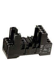 4-1415033-1, PT78740, колодка для реле 4 Form C серии РТ на DIN рейку (10, м.к.)
