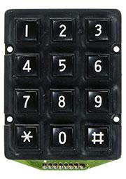 TF-0286B, 3x4/57x46  Тел.клавиатура
