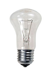 75MK1/CL/E27, Лампа  75Вт, криптон прозрачная, цоколь E27