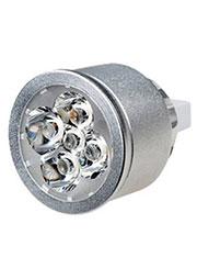 ECOSPOT MR16 A5-5X1W WARM, Св.диод.лампа 5W,2600-3100К 45 (12-24V)