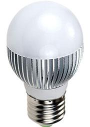 ECOLAMP E27 A5-3X1WB WARM, Св.диод.лампа 25W,цоколь E27,(50mm)G50