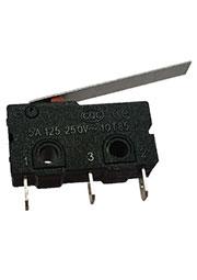 KW4-Z3F150, микропереключатель лапка 25мм, пайка на провод (=SM5-03P-2)